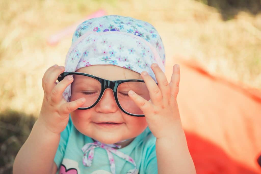 Here Is A Proof To Know That Baby With Glasses Look Adorable