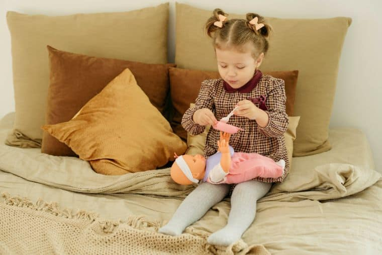 Non-toxic baby accessories for dolls
